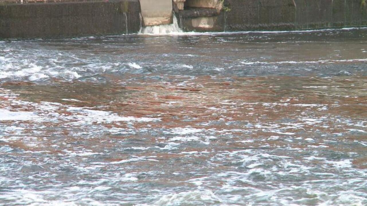 Heavy rains cause sewage spill in Michigan rivers