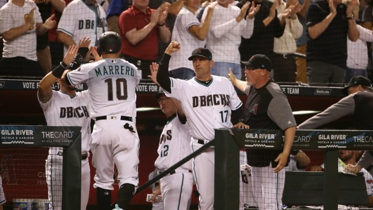 Diamondbacks beat Dodgers again, off to best start in team history