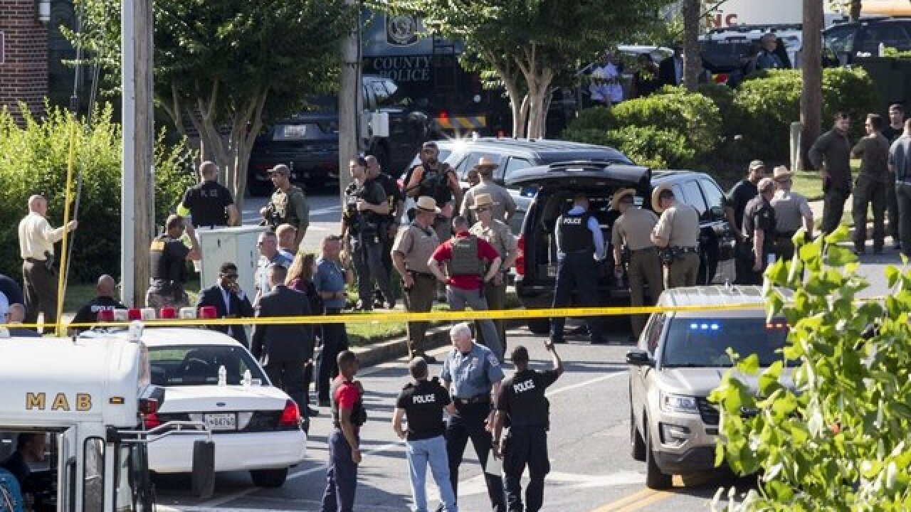 Capital Gazette says it received threats following shooting