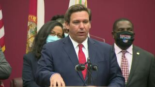 Gov. Ron DeSantis defends appointment of Renatha Francis, Sept. 9, 2020
