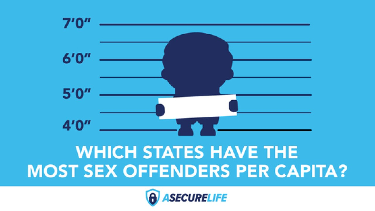 Ranked: Sex offenders by state