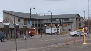 Emergency crews responding to fire in downtown Great Falls