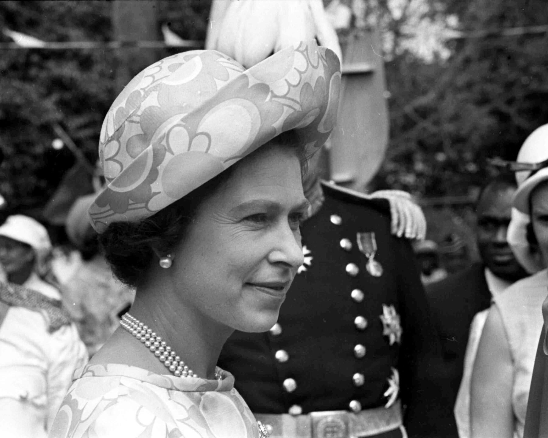 Caribbean Queen Elizabeth II