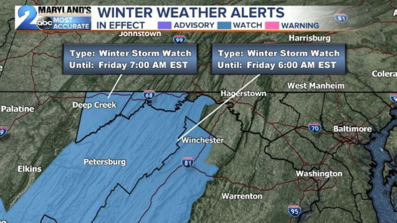 WINTRY MESS: First Flakes Of The Season
