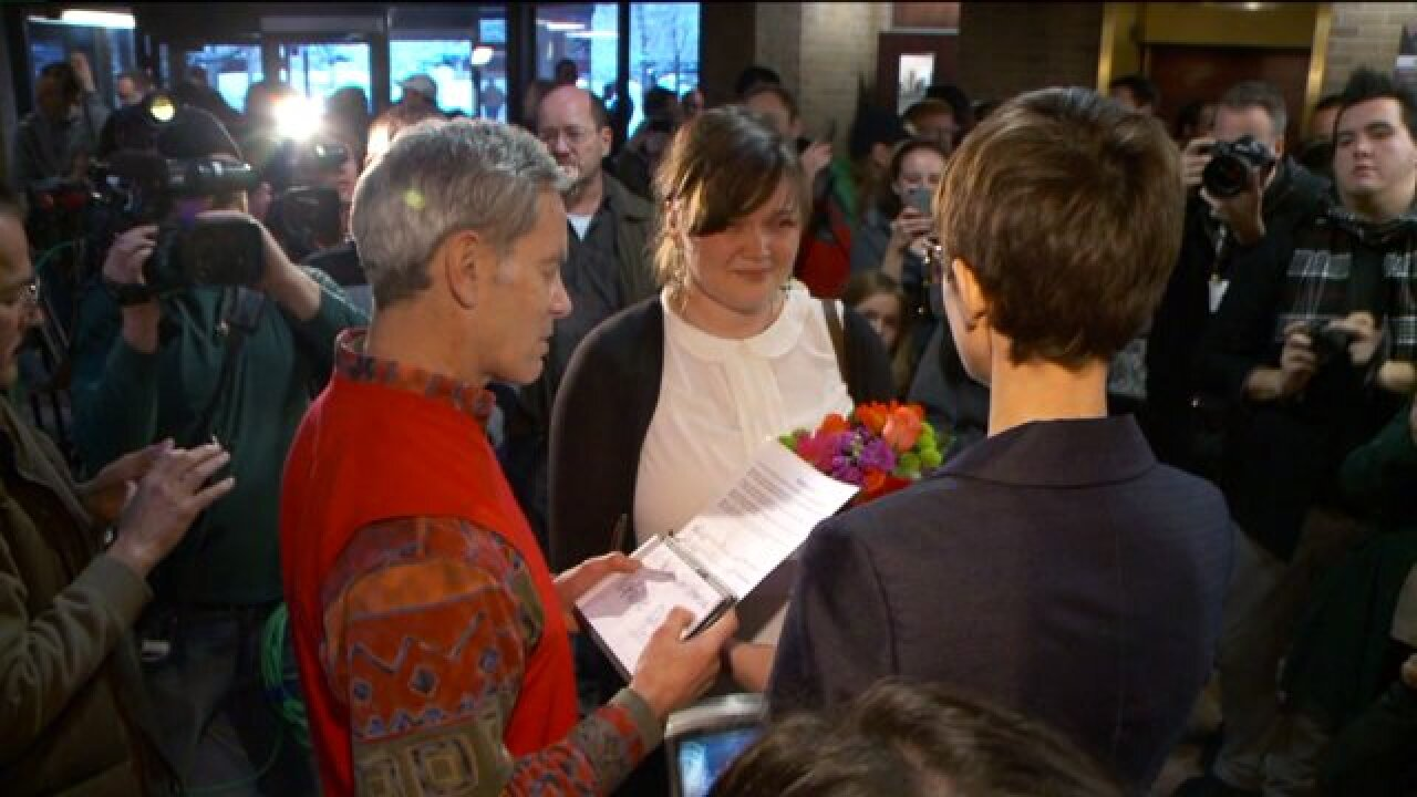 Activists react as Utah Supreme Court gets involved in same-sex couples' adoption cases