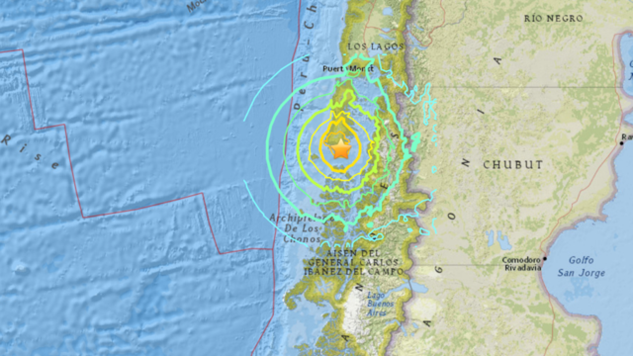 Powerful M7.7 earthquake shakes Chile