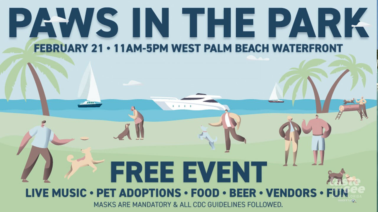 Paws in the Park returns to the West Palm Beach Waterfront.