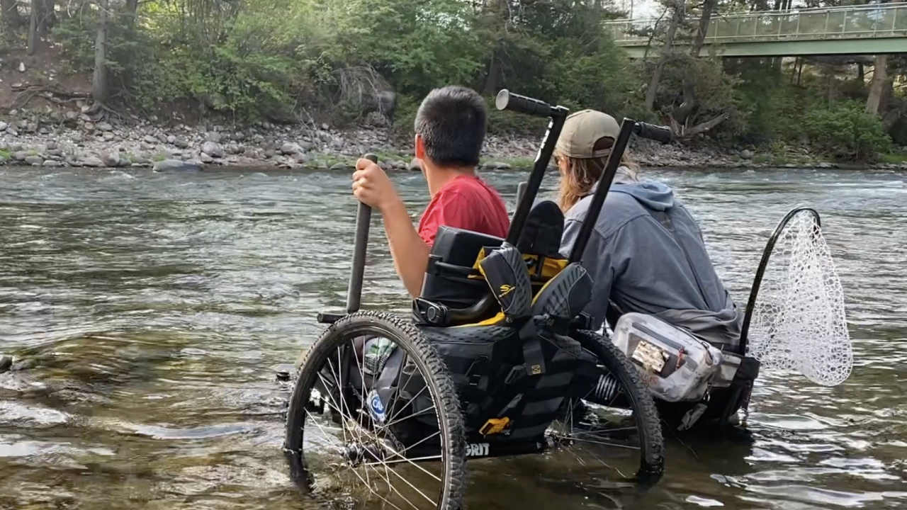 Eagle Mount and Challenged Athletes Foundation Fly Fishing Camp
