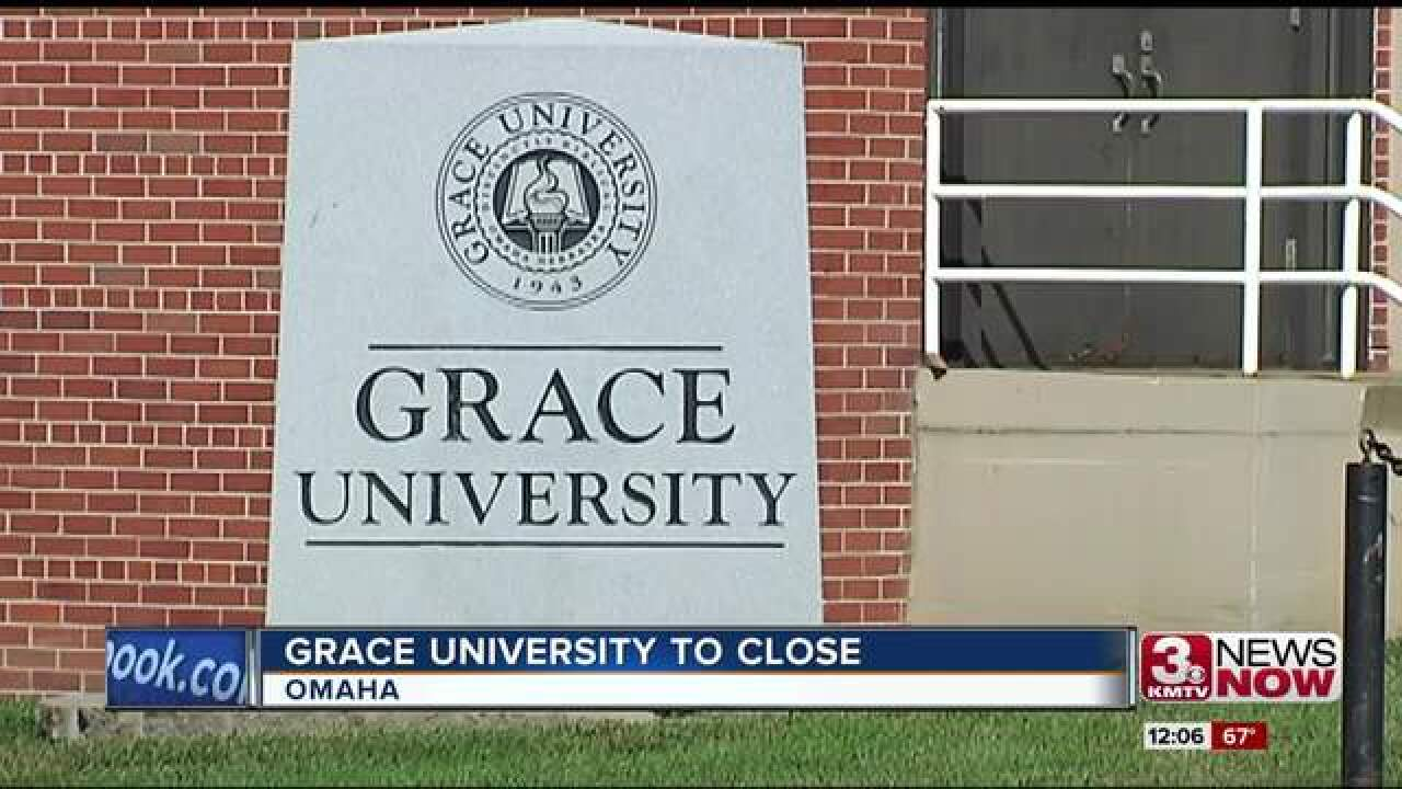 Grace University to cease operations