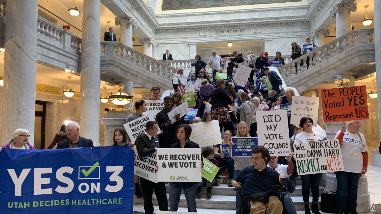 Utah Senate passes replacement for Prop. 3, the Medicaid expansion ballot initiative