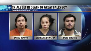 Trial dates set for 3 people charged with child's murder
