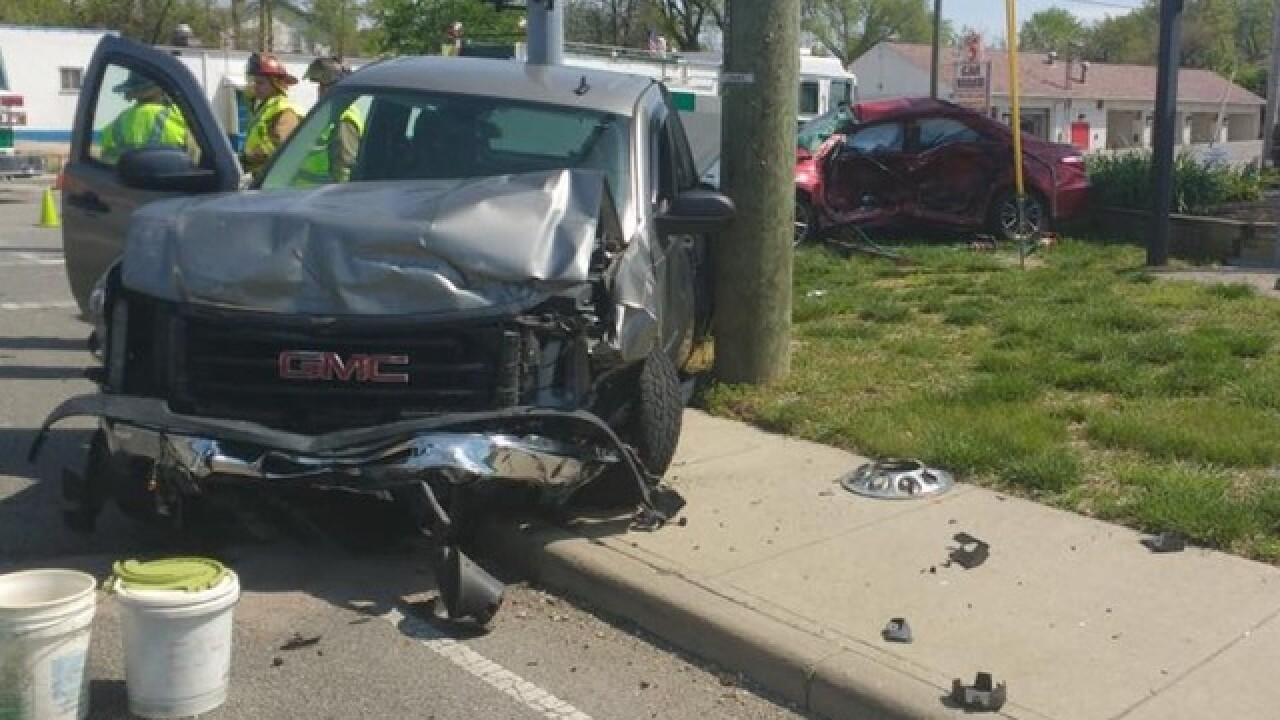1 killed in crash at busy West Side intersection