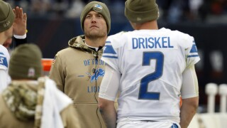 Matthew Stafford sits as Lions lose to Bears
