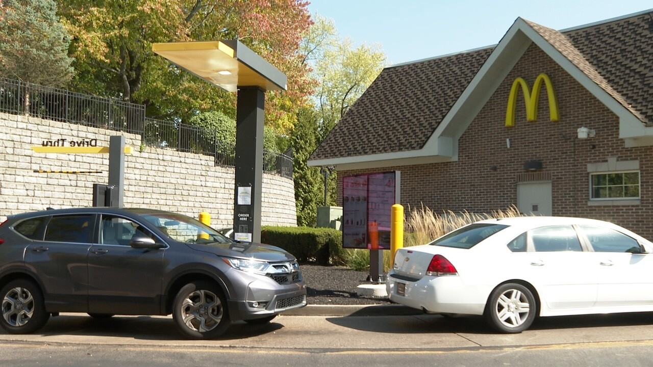 McDonald's Drive-thru in Waynesville, Ohio
