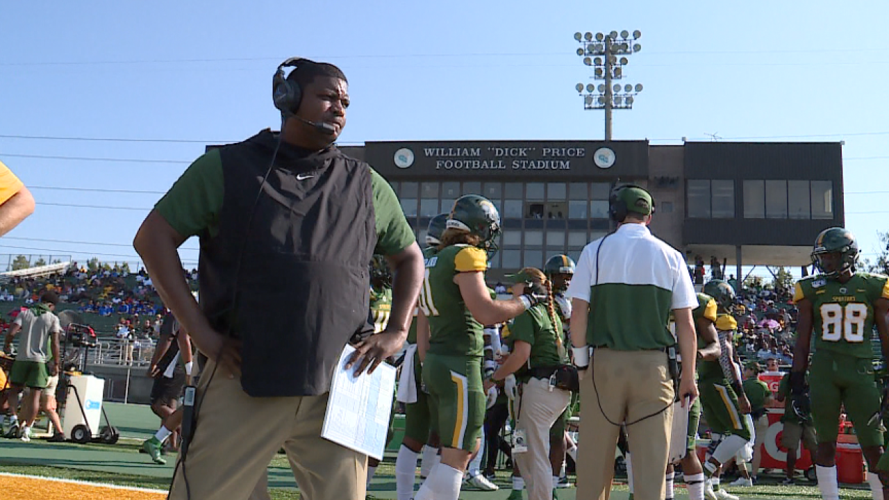 Norfolk State head football coach Latrell Scott receives a contract extension