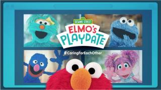 Elmo, Cookie Monster & Sesame Street crew hosting virtual playdate next week