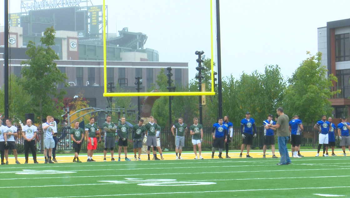 Packers host Salute to Service flag football