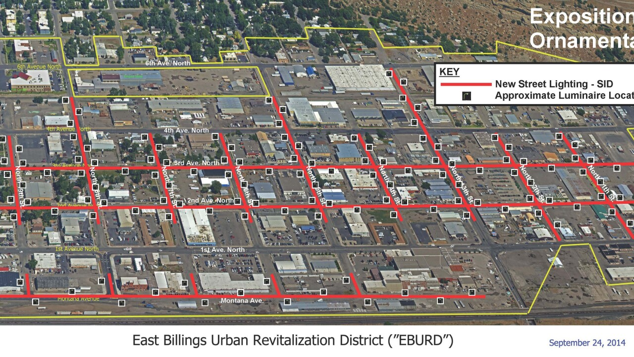 East Billings Urban Renewal District Lighting Plan
