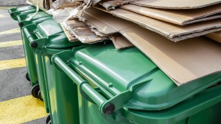 Paper waste separation