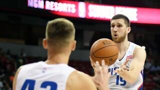 Sviatoslav_Svi_Mykhailiuk_Detroit Pistons v Portland Trail Blazers