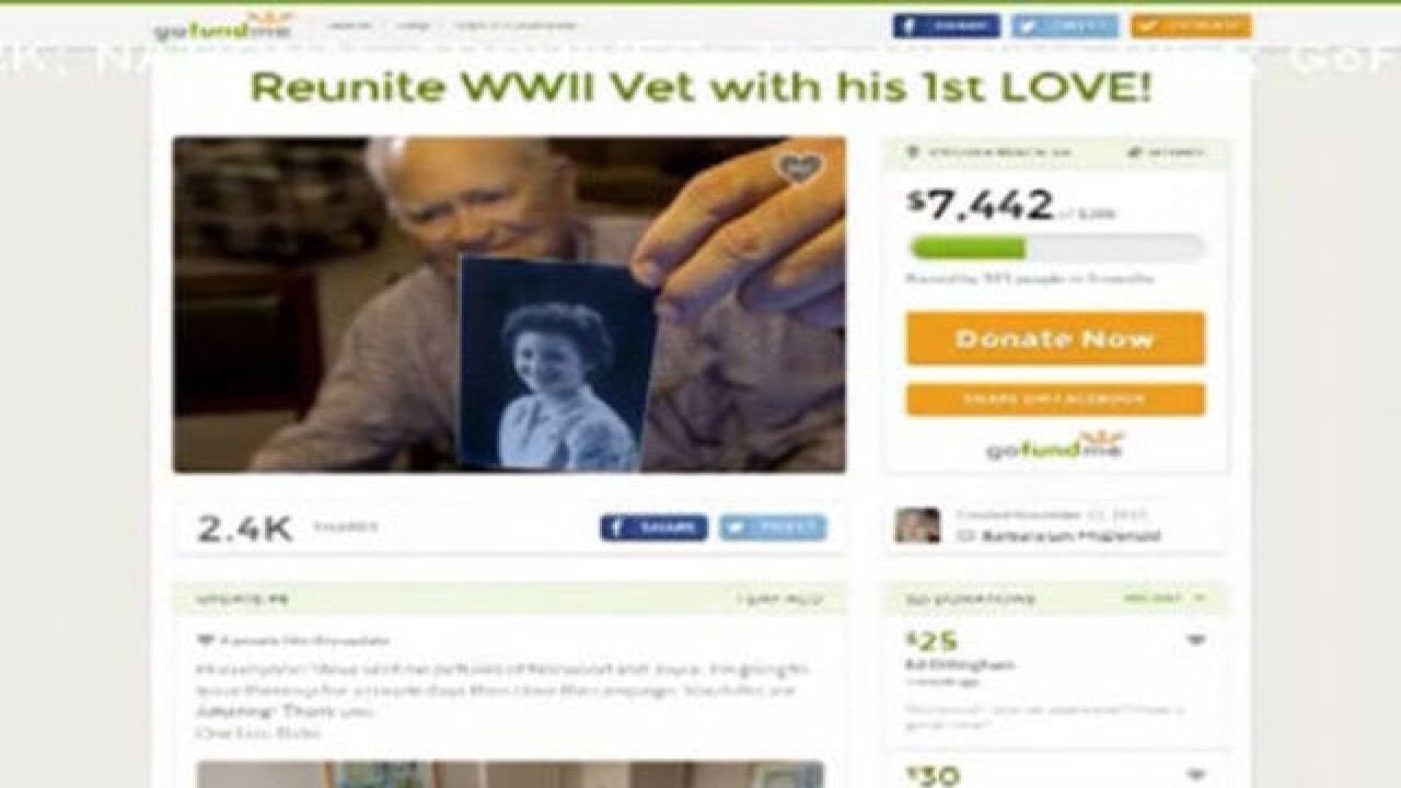 WWII veteran reunites with long-lost love