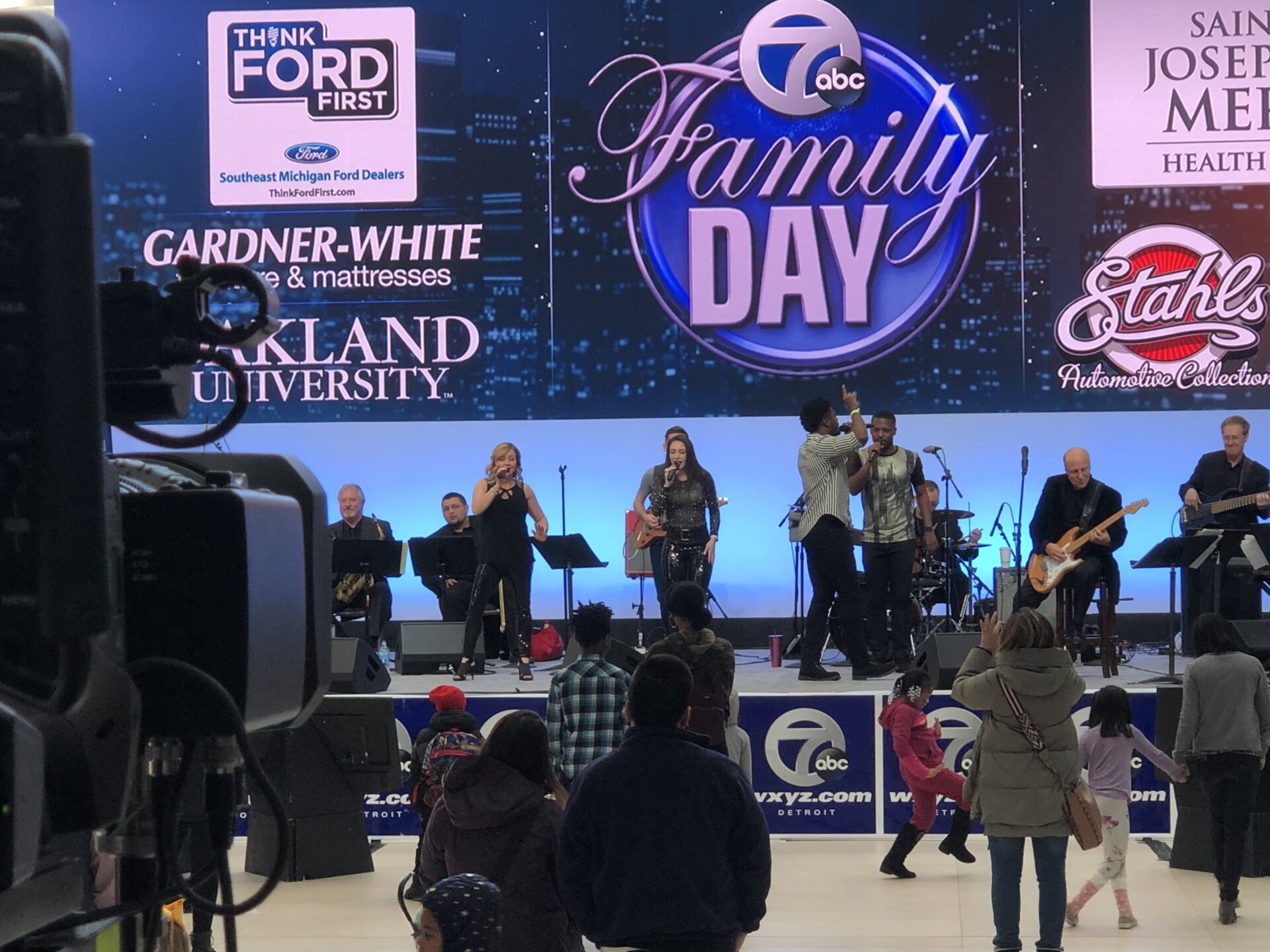Channel 7 Family Day at the North American International Auto Show