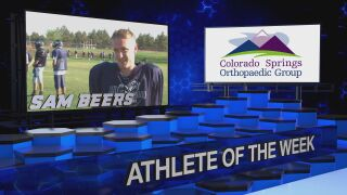KOAA Athlete of the Week: Sam Beers, Air Academy Football