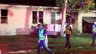 Crescent Drive home destroyed in fire, dog unaccounted for