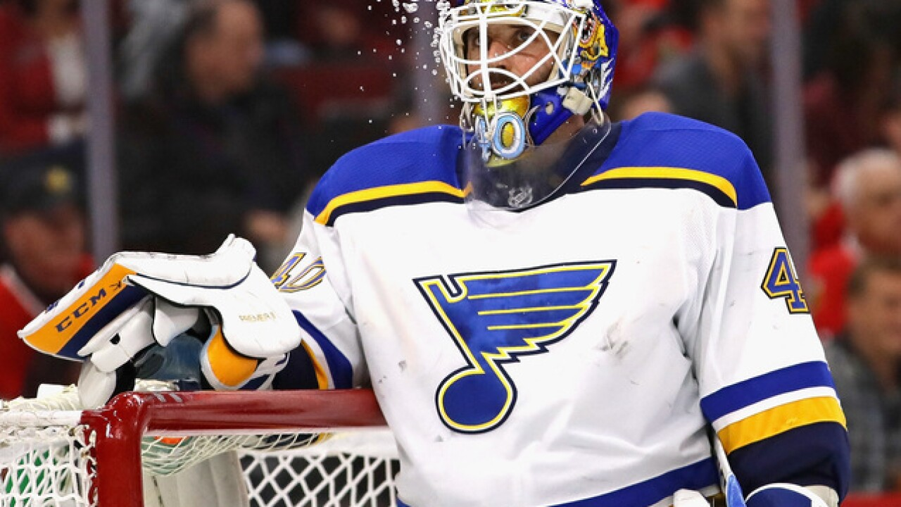 Sabres ink Carter Hutton to three-year deal