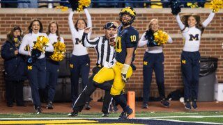 Reports: Michigan QB McCaffery transferring