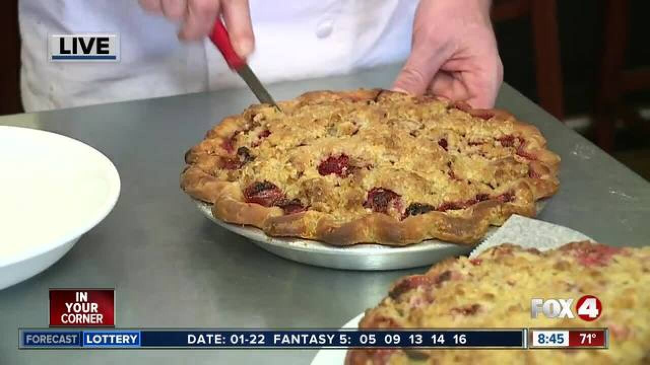 Restaurant serves free pie for National Pie Day