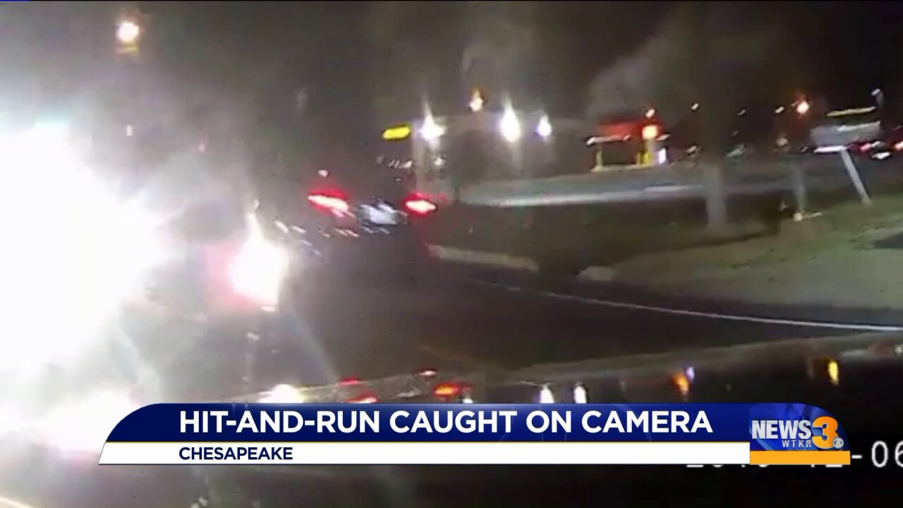 'I tried to avoid it like the plague,' driver says after Chesapeake hit-and-runcrash
