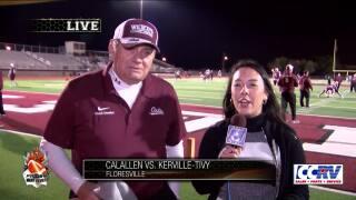 Kerrville coach Phil Danaher