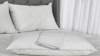 Cooling Pillow Protector Is Perfect For Hot Sleepers