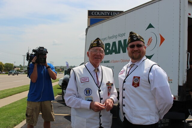 PHOTOS: 2 Works for You hosts Food 2 Veterans in Jenks, Broken Arrow locations