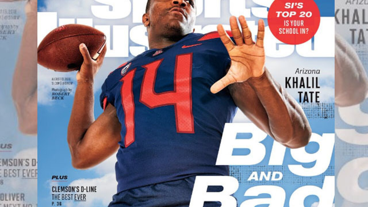 Khalil Tate makes regional SI cover