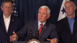 Vice President Pence talks combating meth problem during Montana visit