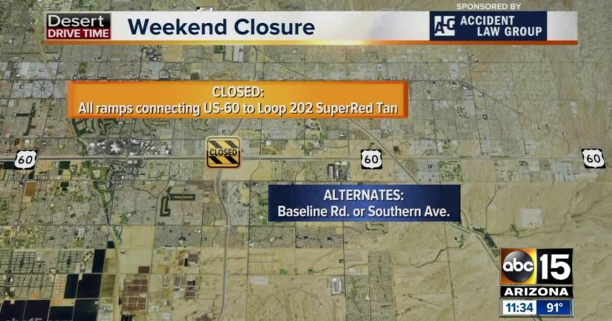Weekend Travel Alert (June 7-10): Two freeways shut down in