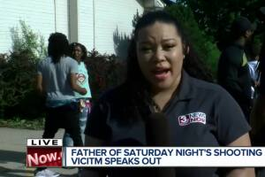 Father of Saturday night's shooting victim speaks out