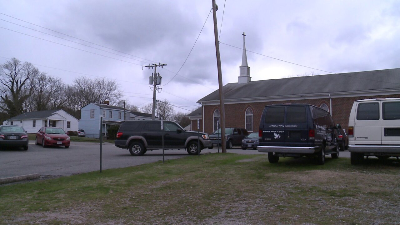 Man wounded outside Petersburg church Sunday morning