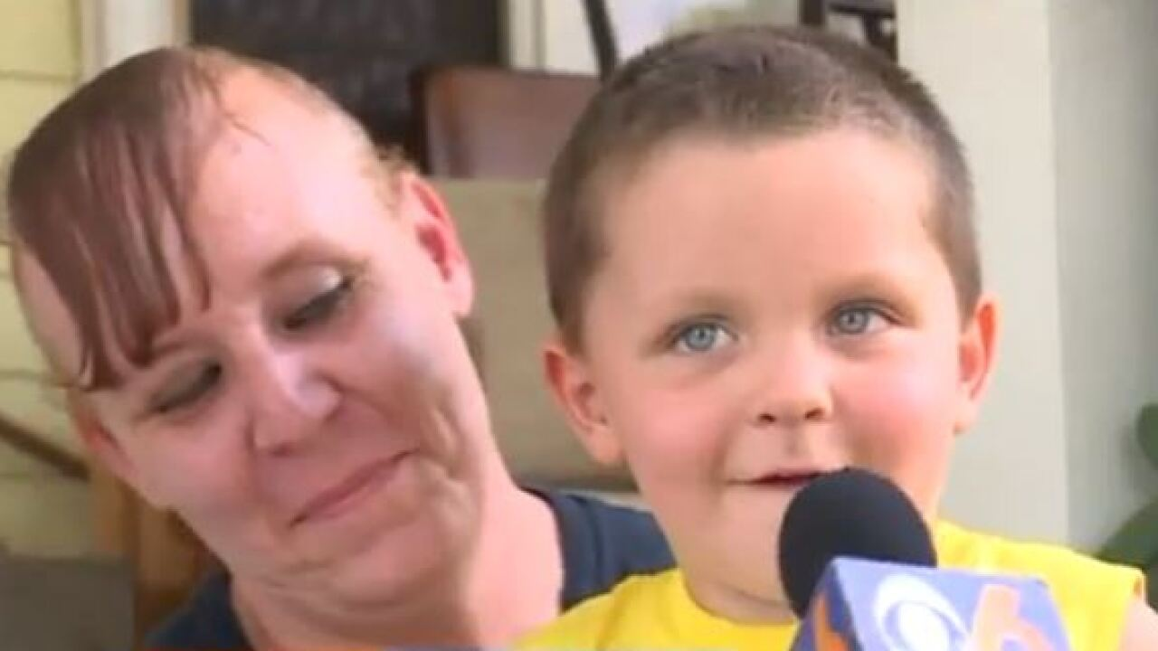 Mom 'counting her blessings' after Virginia 4-year-old boy hit by motorcycle