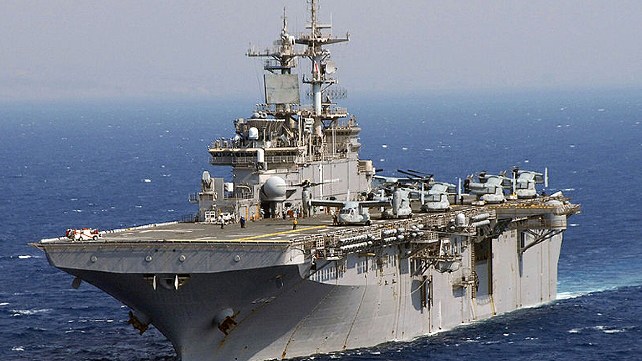 USS Wasp leaves Hampton Roads to become forward-deployed in Japan