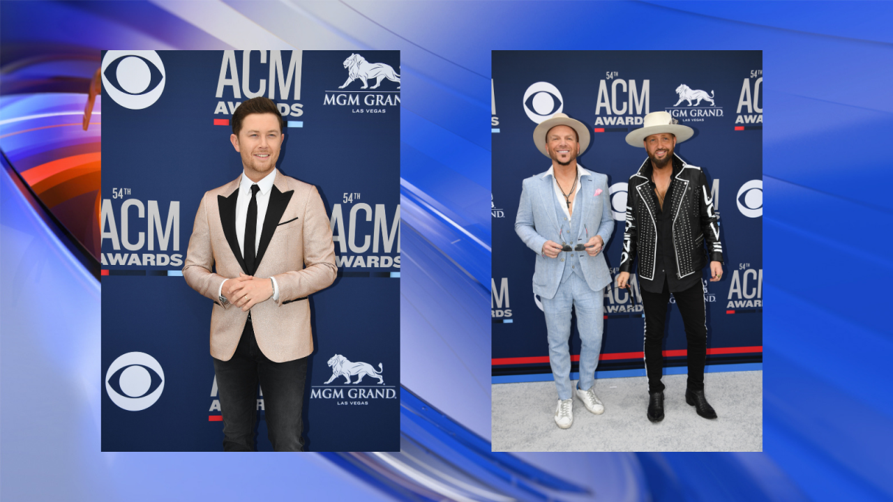 Photo gallery: Celebrities arriving at the 2019 Academy of Country Music Awards