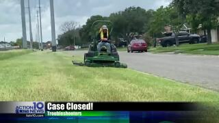 Trouble Shooters: City crews clearing tall grass at O'Day Parkway