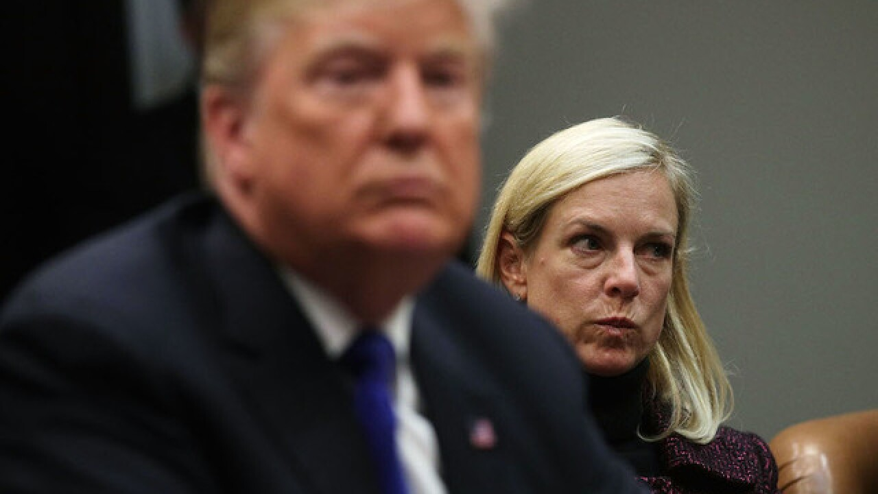 DHS secretary says Trump used 'tough' language on immigration but denies hearing specific slurs
