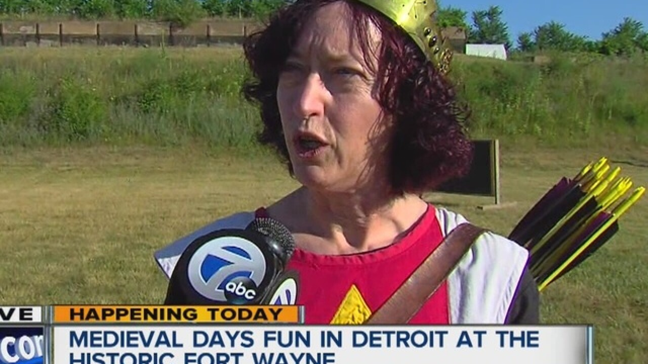 Medieval Days fun in Detroit this weekend