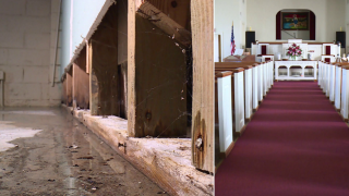 Church calls on the city to 'do the right thing' after basement fills withsewage