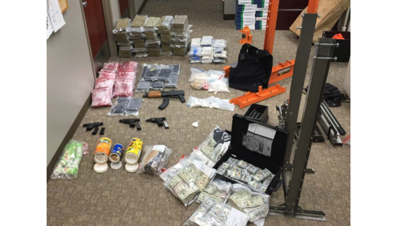 Head of large drug trafficking ring sent heroin, cocaine to