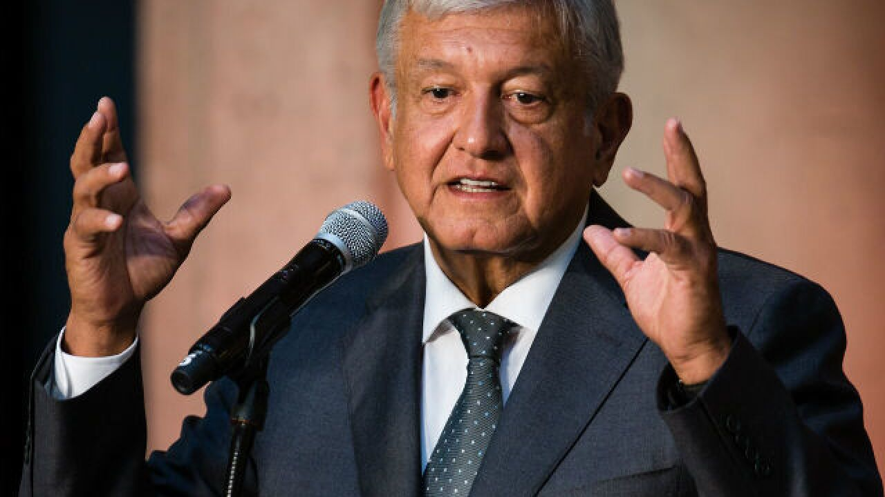 Mexican president-elect vows improvements to deter migration to U.S.