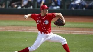 Dodgers Reds Spring Baseball